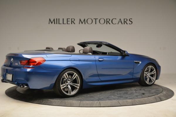 Used 2013 BMW M6 Convertible for sale Sold at Aston Martin of Greenwich in Greenwich CT 06830 8