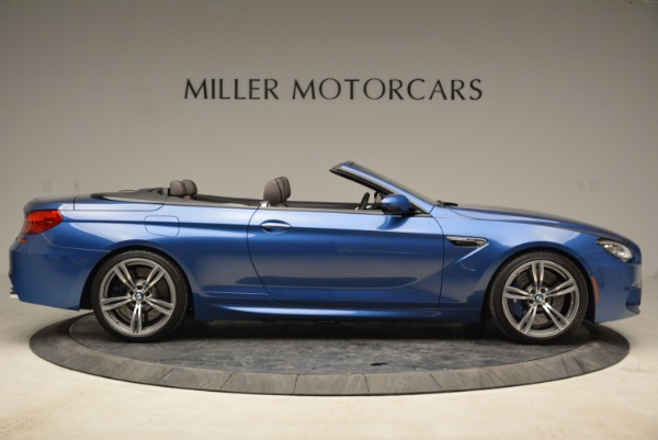 Used 2013 BMW M6 Convertible for sale Sold at Aston Martin of Greenwich in Greenwich CT 06830 9