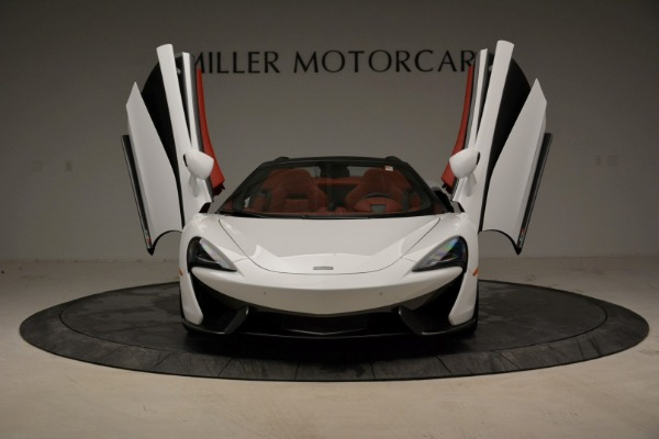 Used 2018 McLaren 570S Spider for sale Sold at Aston Martin of Greenwich in Greenwich CT 06830 13