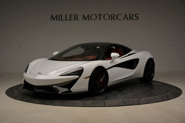 New 2018 McLaren 570S Spider for sale Sold at Aston Martin of Greenwich in Greenwich CT 06830 23