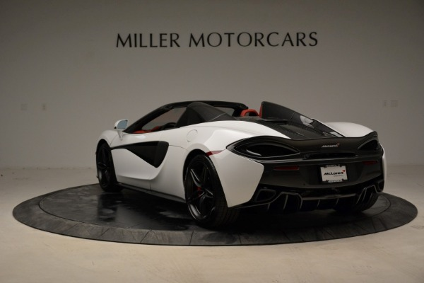 Used 2018 McLaren 570S Spider for sale Sold at Aston Martin of Greenwich in Greenwich CT 06830 5
