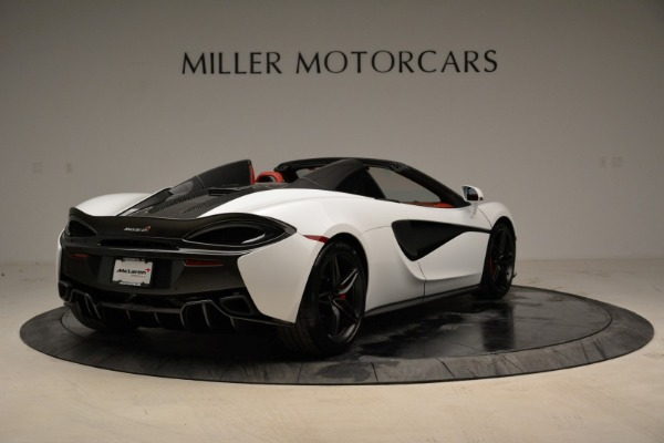 New 2018 McLaren 570S Spider for sale Sold at Aston Martin of Greenwich in Greenwich CT 06830 7