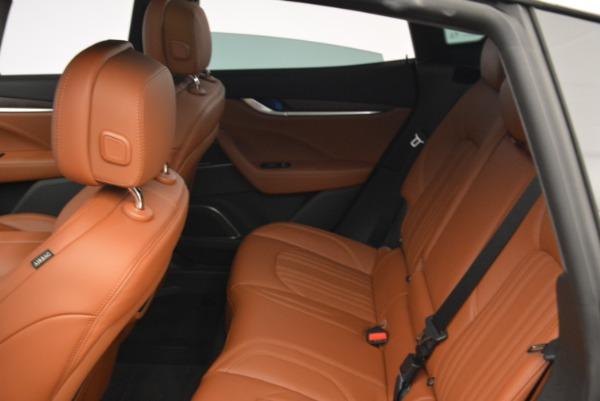 New 2018 Maserati Levante S Q4 GranLusso for sale Sold at Aston Martin of Greenwich in Greenwich CT 06830 17