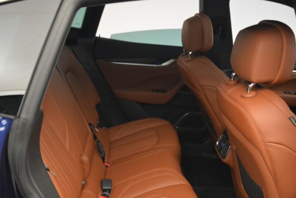 New 2018 Maserati Levante S Q4 GranLusso for sale Sold at Aston Martin of Greenwich in Greenwich CT 06830 24
