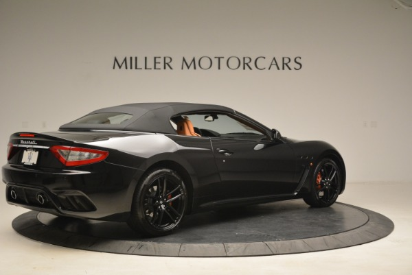 New 2018 Maserati GranTurismo MC Convertible for sale Sold at Aston Martin of Greenwich in Greenwich CT 06830 18