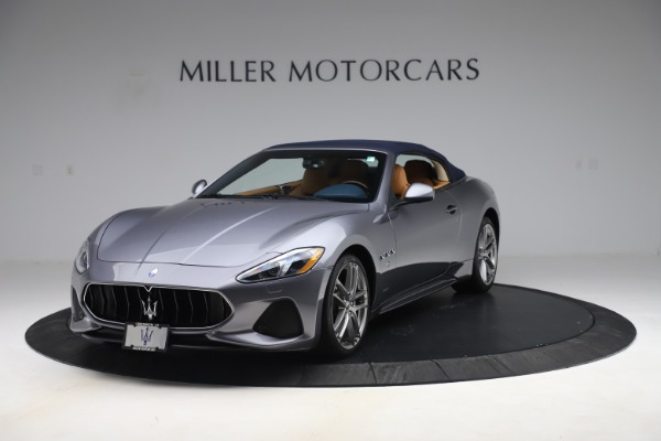 Used 2018 Maserati GranTurismo Sport Convertible for sale $99,900 at Aston Martin of Greenwich in Greenwich CT 06830 14