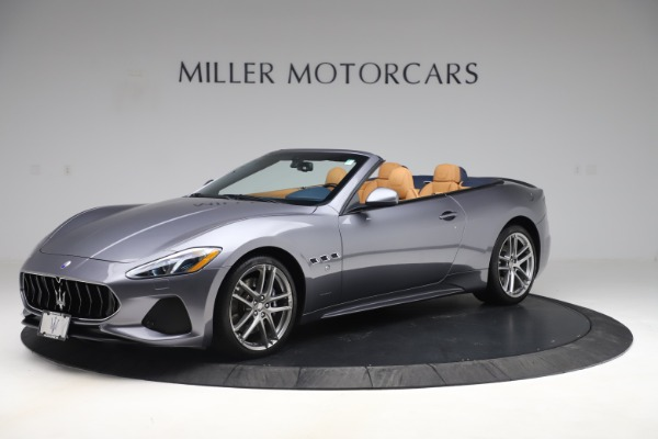 Used 2018 Maserati GranTurismo Sport Convertible for sale $99,900 at Aston Martin of Greenwich in Greenwich CT 06830 2