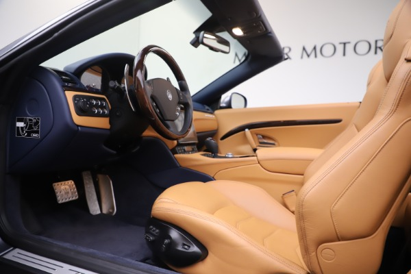 Used 2018 Maserati GranTurismo Sport Convertible for sale $99,900 at Aston Martin of Greenwich in Greenwich CT 06830 20