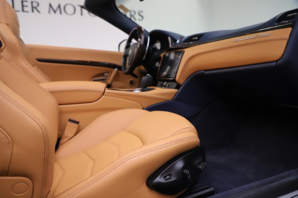Used 2018 Maserati GranTurismo Sport Convertible for sale $99,900 at Aston Martin of Greenwich in Greenwich CT 06830 27