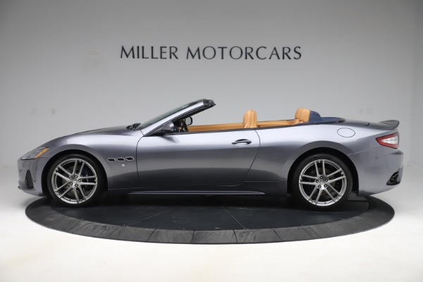 Used 2018 Maserati GranTurismo Sport Convertible for sale $99,900 at Aston Martin of Greenwich in Greenwich CT 06830 3