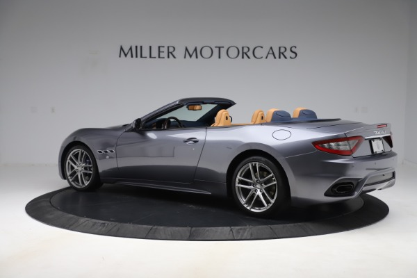 Used 2018 Maserati GranTurismo Sport Convertible for sale $99,900 at Aston Martin of Greenwich in Greenwich CT 06830 4