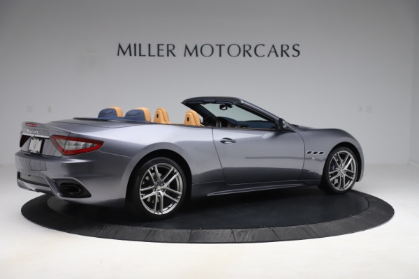 Used 2018 Maserati GranTurismo Sport Convertible for sale $99,900 at Aston Martin of Greenwich in Greenwich CT 06830 8