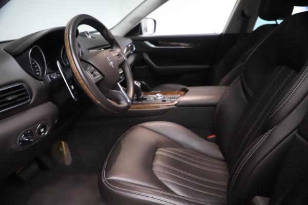 Used 2018 Maserati Levante S Q4 GranLusso for sale $67,900 at Aston Martin of Greenwich in Greenwich CT 06830 13