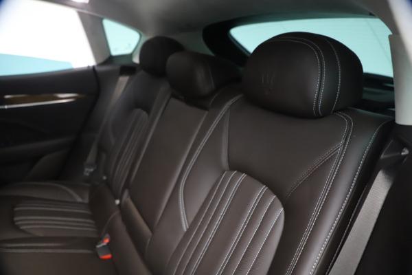 New 2018 Maserati Levante S Q4 GranLusso for sale Sold at Aston Martin of Greenwich in Greenwich CT 06830 18