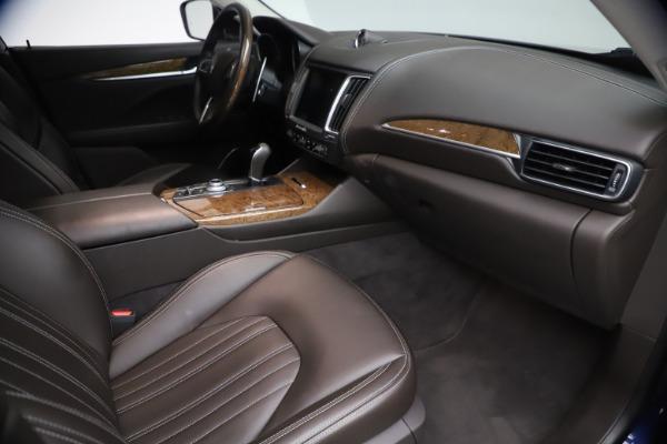 Used 2018 Maserati Levante S Q4 GranLusso for sale $67,900 at Aston Martin of Greenwich in Greenwich CT 06830 20