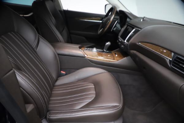 Used 2018 Maserati Levante S Q4 GranLusso for sale $67,900 at Aston Martin of Greenwich in Greenwich CT 06830 21
