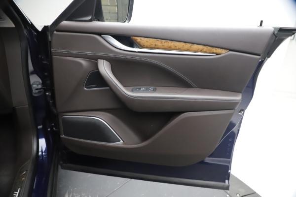 Used 2018 Maserati Levante S Q4 GranLusso for sale $67,900 at Aston Martin of Greenwich in Greenwich CT 06830 22