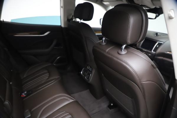 Used 2018 Maserati Levante S Q4 GranLusso for sale $67,900 at Aston Martin of Greenwich in Greenwich CT 06830 23