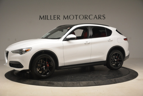 New 2018 Alfa Romeo Stelvio Ti Sport Q4 for sale Sold at Aston Martin of Greenwich in Greenwich CT 06830 2