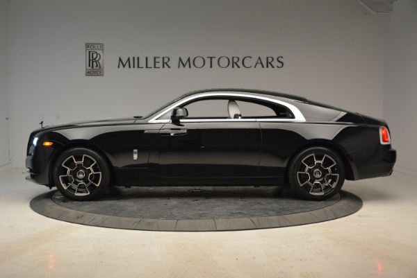 Used 2017 Rolls-Royce Wraith Black Badge for sale Sold at Aston Martin of Greenwich in Greenwich CT 06830 3