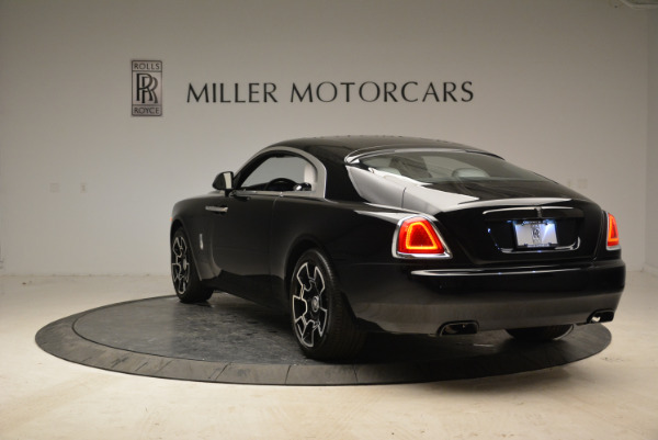 Used 2017 Rolls-Royce Wraith Black Badge for sale Sold at Aston Martin of Greenwich in Greenwich CT 06830 5