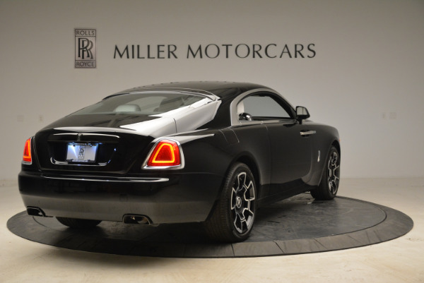 Used 2017 Rolls-Royce Wraith Black Badge for sale Sold at Aston Martin of Greenwich in Greenwich CT 06830 7