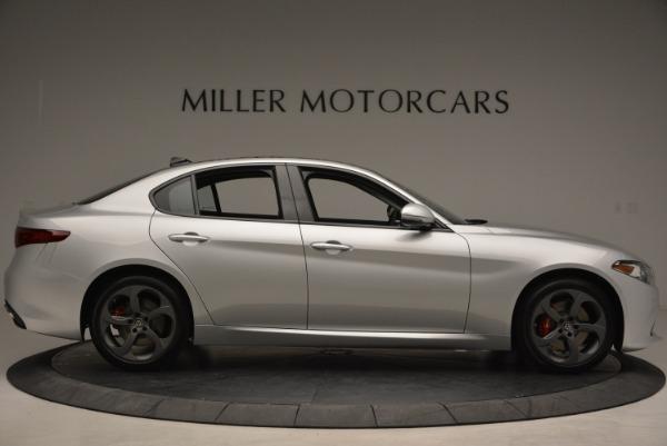 New 2018 Alfa Romeo Giulia Ti Sport Q4 for sale Sold at Aston Martin of Greenwich in Greenwich CT 06830 9