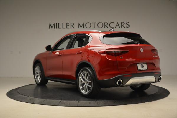 New 2018 Alfa Romeo Stelvio Ti Q4 for sale Sold at Aston Martin of Greenwich in Greenwich CT 06830 5