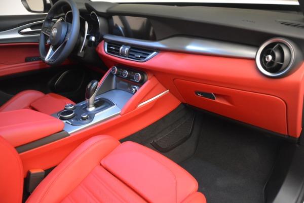 New 2018 Alfa Romeo Stelvio Ti Sport Q4 for sale Sold at Aston Martin of Greenwich in Greenwich CT 06830 16