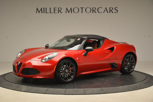 New 2018 Alfa Romeo 4C Spider for sale Sold at Aston Martin of Greenwich in Greenwich CT 06830 4