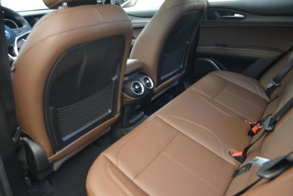 New 2018 Alfa Romeo Stelvio Ti Q4 for sale Sold at Aston Martin of Greenwich in Greenwich CT 06830 16