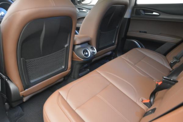New 2018 Alfa Romeo Stelvio Ti Q4 for sale Sold at Aston Martin of Greenwich in Greenwich CT 06830 17