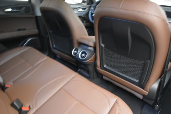 New 2018 Alfa Romeo Stelvio Ti Q4 for sale Sold at Aston Martin of Greenwich in Greenwich CT 06830 23
