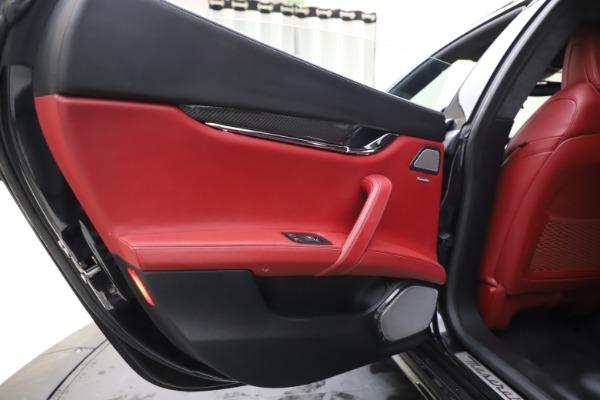 Used 2018 Maserati Quattroporte S Q4 GranSport for sale $67,900 at Aston Martin of Greenwich in Greenwich CT 06830 21