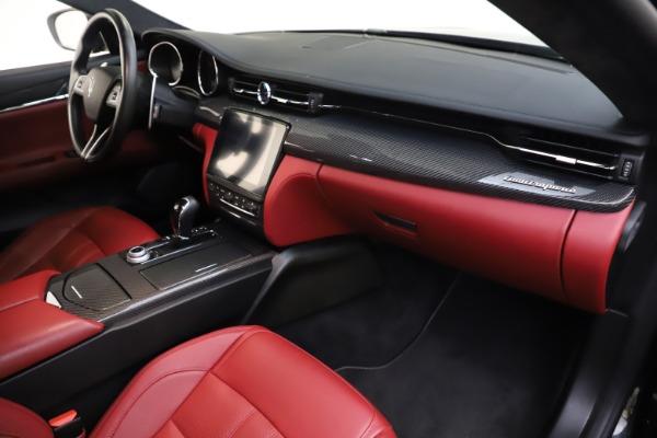 Used 2018 Maserati Quattroporte S Q4 GranSport for sale $67,900 at Aston Martin of Greenwich in Greenwich CT 06830 22