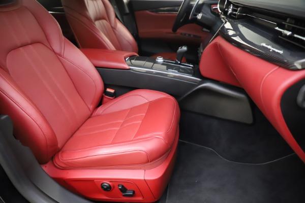 Used 2018 Maserati Quattroporte S Q4 GranSport for sale $67,900 at Aston Martin of Greenwich in Greenwich CT 06830 24