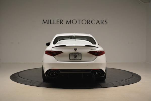 New 2018 Alfa Romeo Giulia Quadrifoglio for sale Sold at Aston Martin of Greenwich in Greenwich CT 06830 6