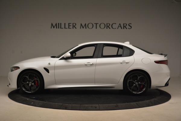 New 2018 Alfa Romeo Giulia Quadrifoglio for sale Sold at Aston Martin of Greenwich in Greenwich CT 06830 3