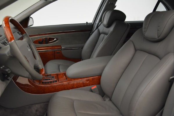 Used 2004 Maybach 57 for sale Sold at Aston Martin of Greenwich in Greenwich CT 06830 13