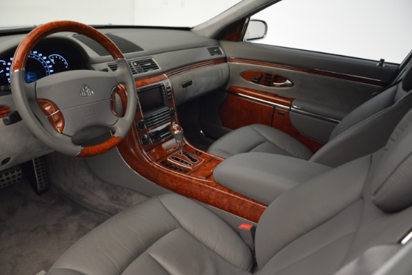 Used 2004 Maybach 57 for sale Sold at Aston Martin of Greenwich in Greenwich CT 06830 14