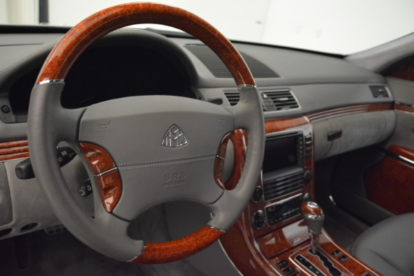 Used 2004 Maybach 57 for sale Sold at Aston Martin of Greenwich in Greenwich CT 06830 15