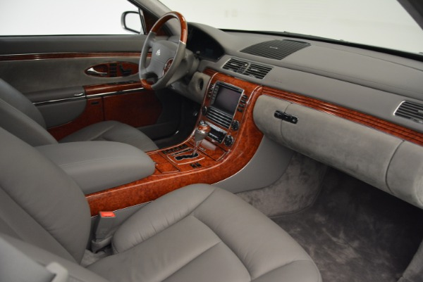 Used 2004 Maybach 57 for sale Sold at Aston Martin of Greenwich in Greenwich CT 06830 26