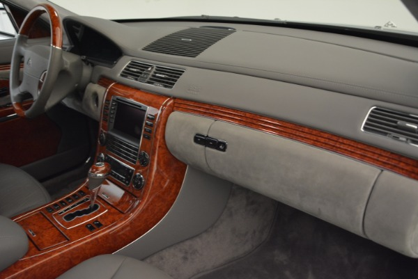 Used 2004 Maybach 57 for sale Sold at Aston Martin of Greenwich in Greenwich CT 06830 28