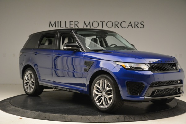 Used 2015 Land Rover Range Rover Sport SVR for sale Sold at Aston Martin of Greenwich in Greenwich CT 06830 10