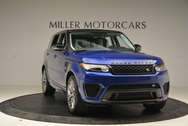 Used 2015 Land Rover Range Rover Sport SVR for sale Sold at Aston Martin of Greenwich in Greenwich CT 06830 11