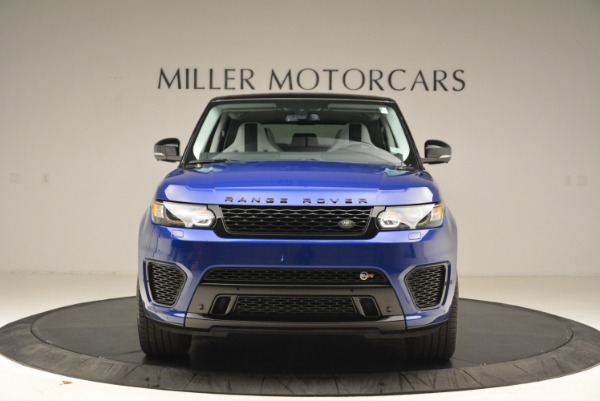 Used 2015 Land Rover Range Rover Sport SVR for sale Sold at Aston Martin of Greenwich in Greenwich CT 06830 12