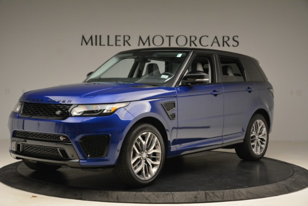 Used 2015 Land Rover Range Rover Sport SVR for sale Sold at Aston Martin of Greenwich in Greenwich CT 06830 2