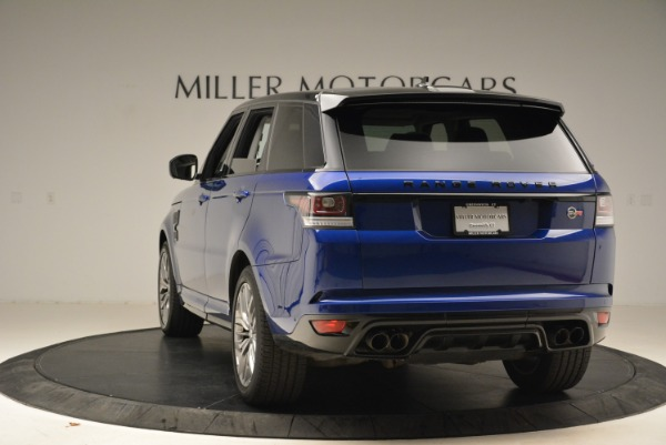 Used 2015 Land Rover Range Rover Sport SVR for sale Sold at Aston Martin of Greenwich in Greenwich CT 06830 5