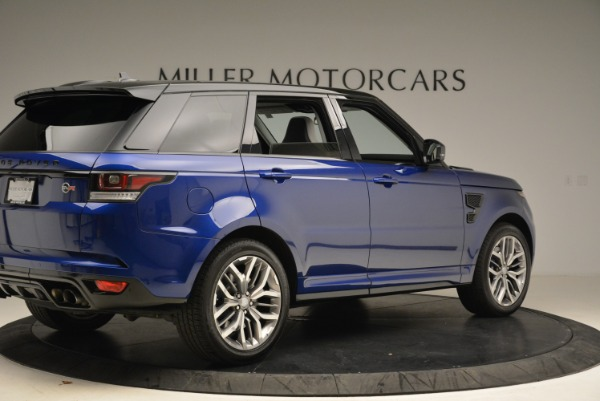 Used 2015 Land Rover Range Rover Sport SVR for sale Sold at Aston Martin of Greenwich in Greenwich CT 06830 8