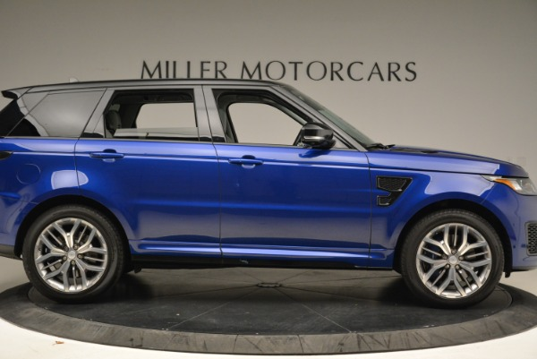 Used 2015 Land Rover Range Rover Sport SVR for sale Sold at Aston Martin of Greenwich in Greenwich CT 06830 9